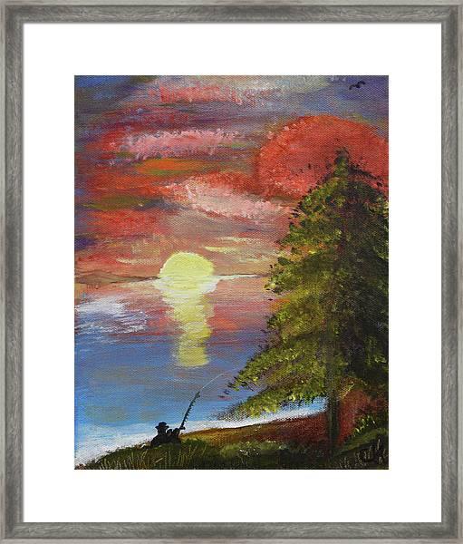 Fisherman's Paradise Framed Print