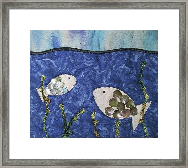 Fishy Fishy Framed Print