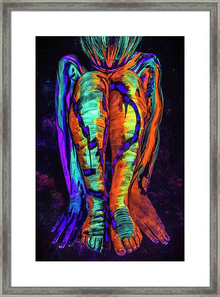 Fiya Framed Print by Matt Deifer