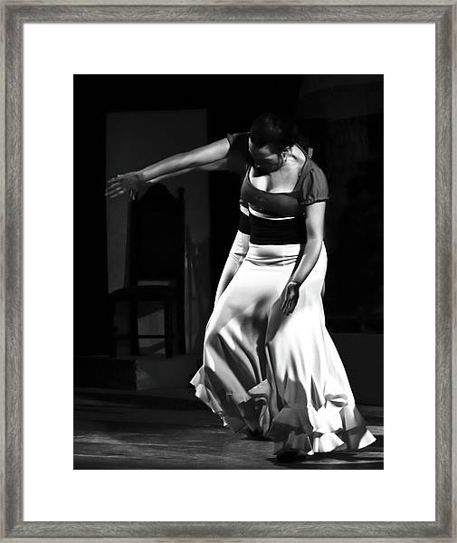 Framed Print featuring the photograph Flamenco 40 by Catherine Sobredo