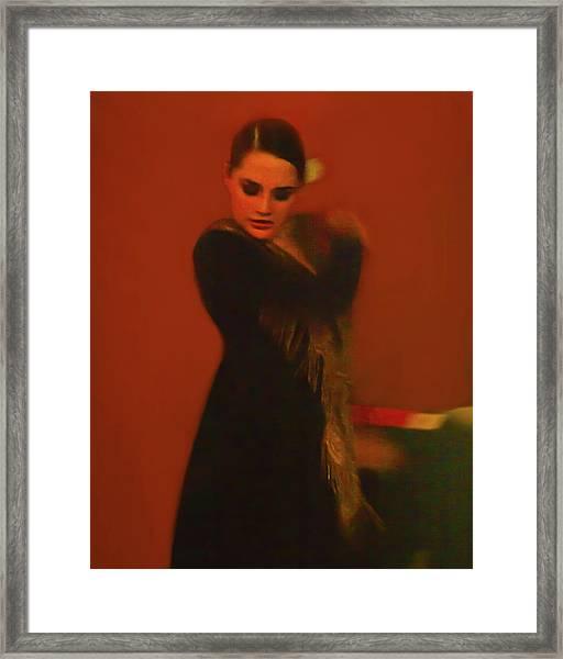 Flamenco Series 2 Framed Print