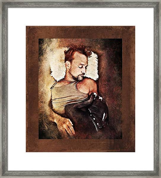 Flanery And Tex Framed Print