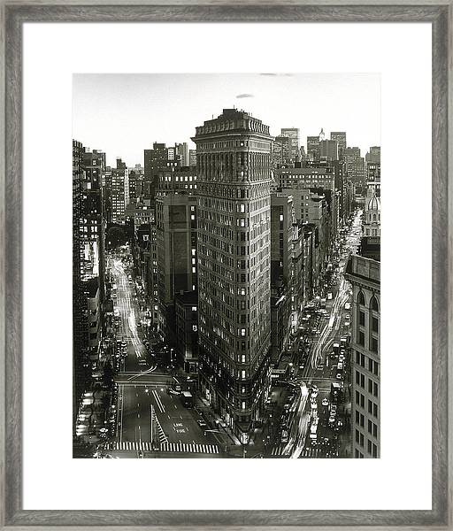 Flat Iron Building,  New York City Framed Print