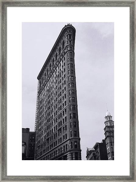 Flatiron Building In Nyc Framed Print