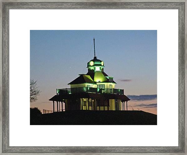 Fleetwood. The Mount Pavillion. Framed Print