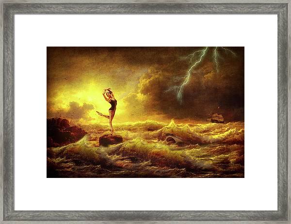 Flirting With Disaster Framed Print