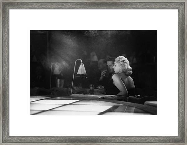 Floor Show Audience Framed Print