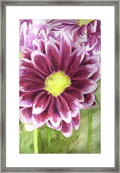 Flor Framed Print