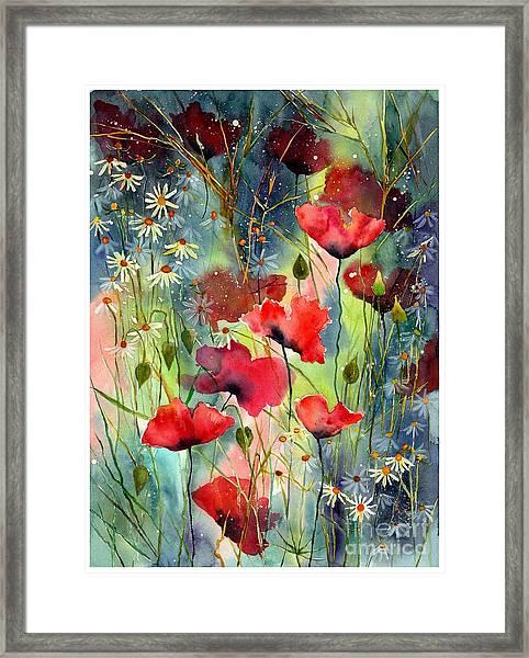Floral Abracadabra Framed Print