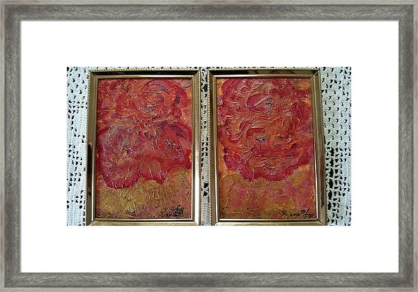 Floral Abstract 2 Framed Print