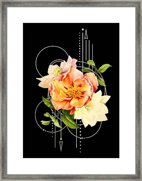Floral Abstraction Framed Print