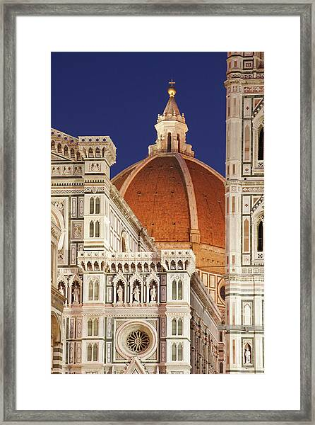 Florence Cathedral Detail Framed Print