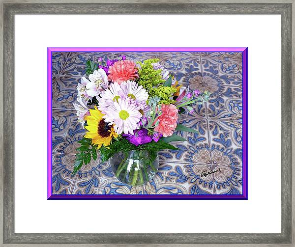 Flower Bouquet  Framed Print