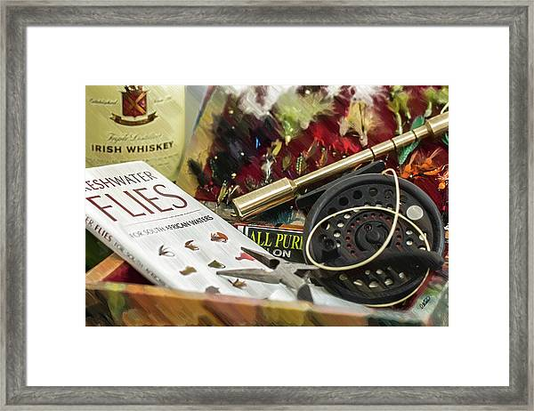 Fly Fishing - Dwp1024718 Framed Print
