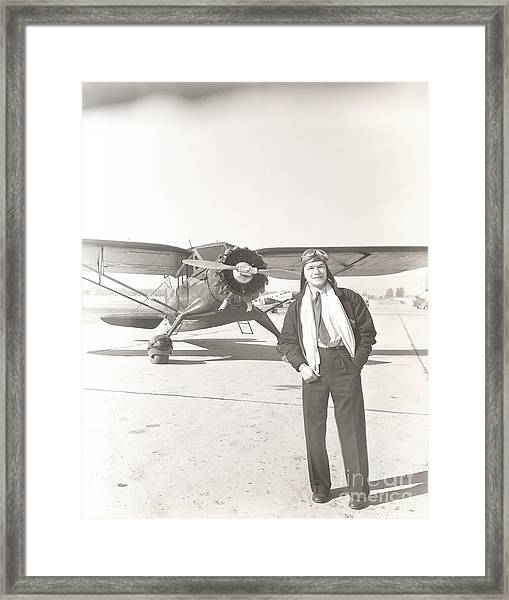 Fly Guy Framed Print by Everett Collection