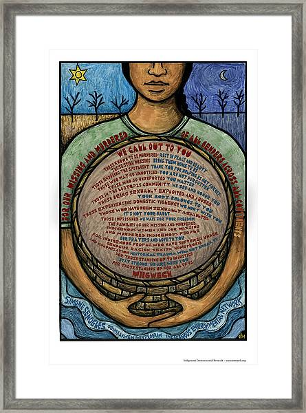 For Our Missing Framed Print by Ricardo Levins Morales