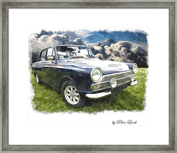Ford Cortina 1 Framed Print