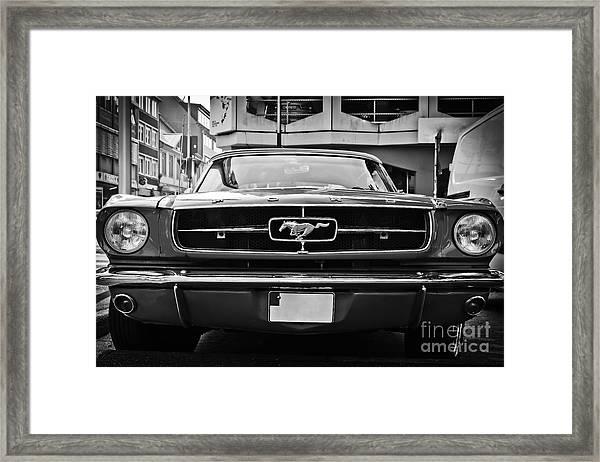 Ford Mustang Vintage 1 Framed Print