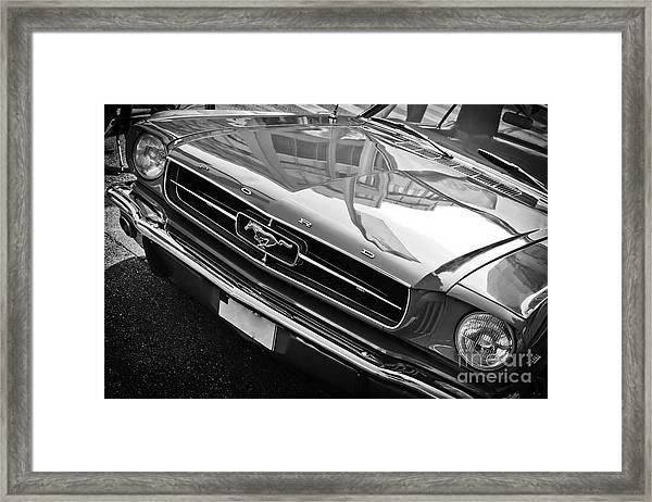 Ford Mustang Vintage 2 Framed Print
