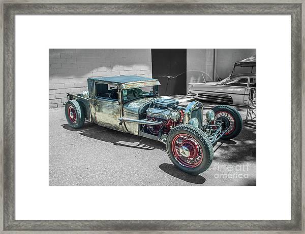 Ford Rat Rod Framed Print