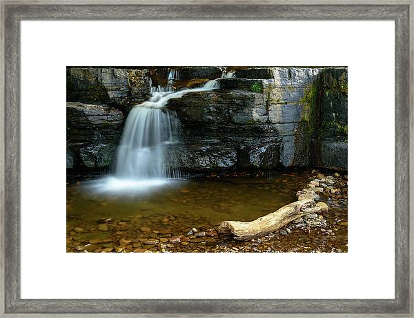 Forged By Nature Framed Print