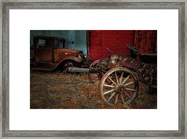 Forgotten Framed Print