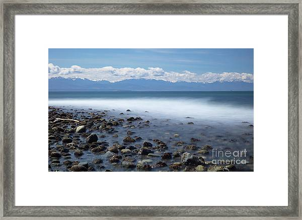 Fort Ebey Waves Framed Print