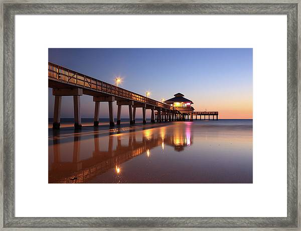 Fort Myers Beach, Florida Framed Print