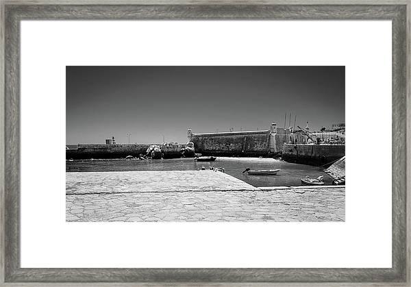 Forte Da Ponte Da Bandeira Framed Print