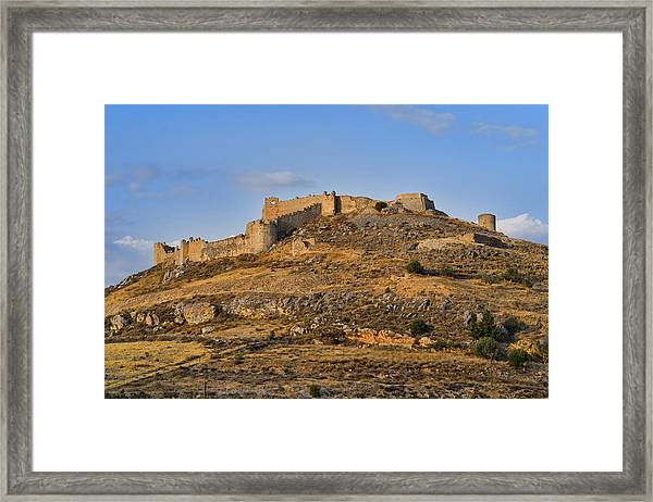 Framed Print featuring the photograph Fortress Larissa by Milan Ljubisavljevic