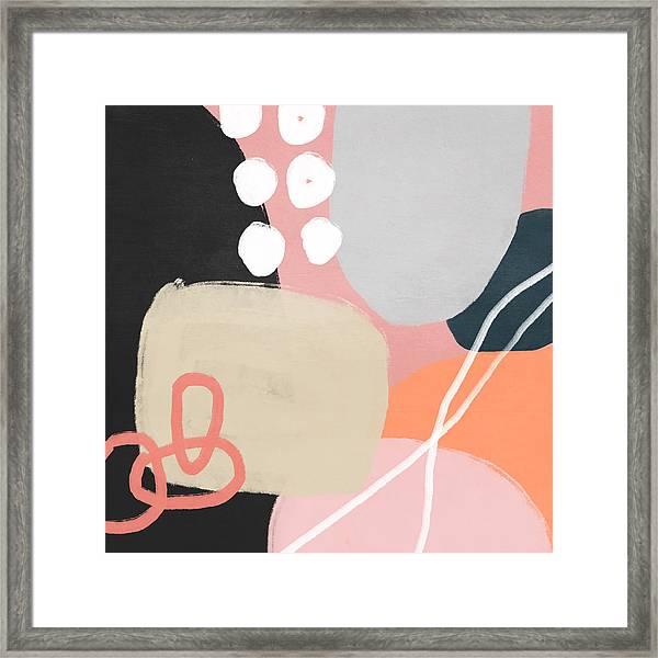 Fragments 1- Art By Linda Woods Framed Print