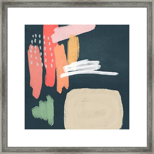 Fragments 2- Art By Linda Woods Framed Print