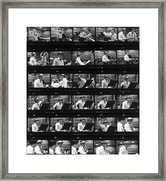 Frames Of Frank Framed Print by Hulton Archive