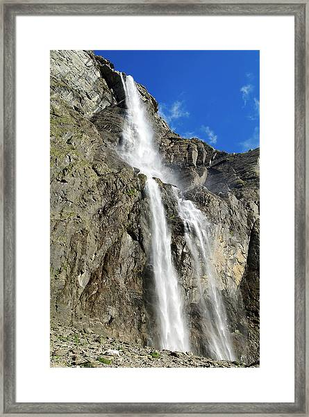 France, Hautes Pyrenees, Cirque Of Framed Print