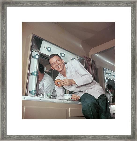 Frank Sinatra Framed Print by Archive Photos