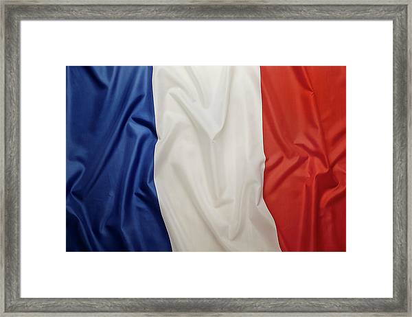 French Flag Framed Print by Joseph Clark