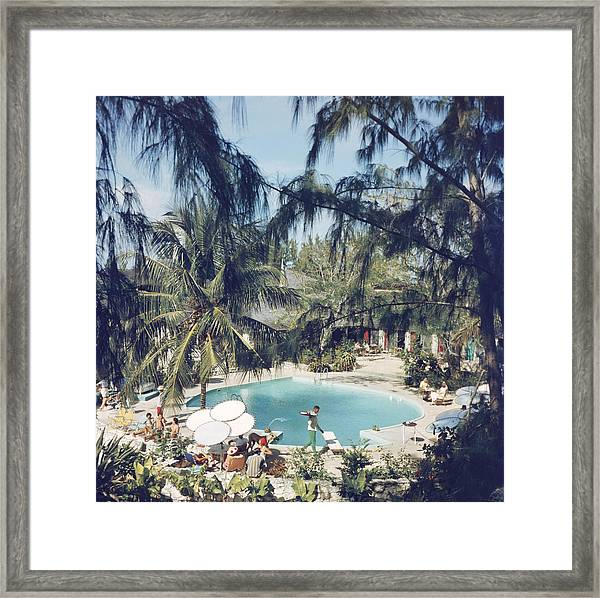 French Leave Hotel Framed Print