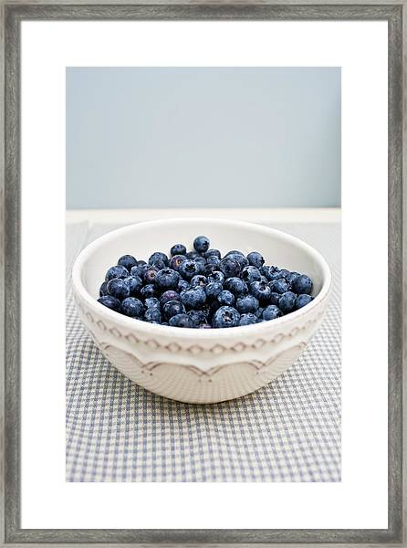 Fresh Bowl Of Organic And Ripe Framed Print
