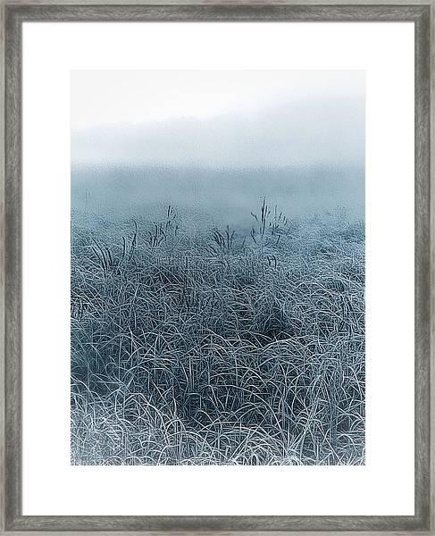 Frigid Morn Framed Print