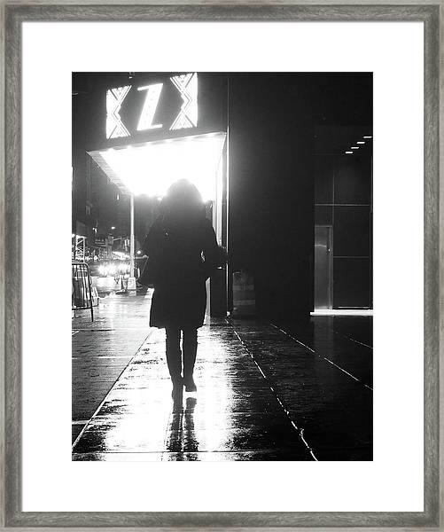 from A 2 Z Framed Print