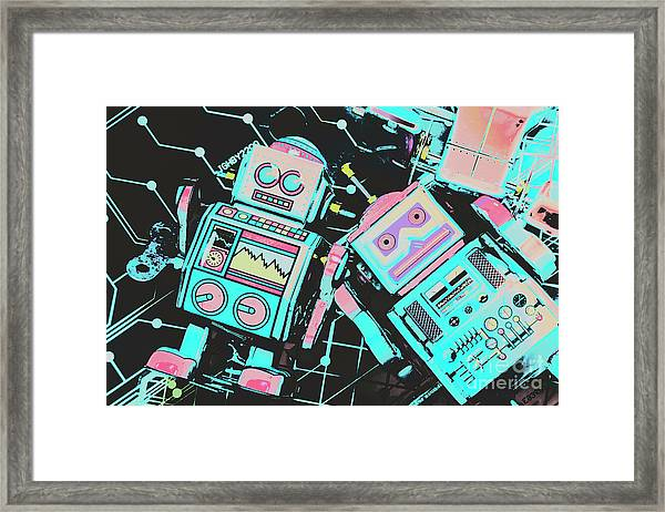 From A Video Game Prototype Framed Print