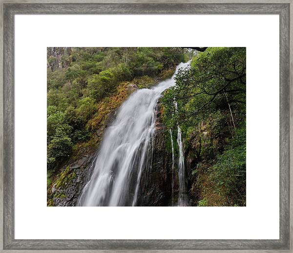 Framed Print featuring the photograph From Great Heights by William Dickman
