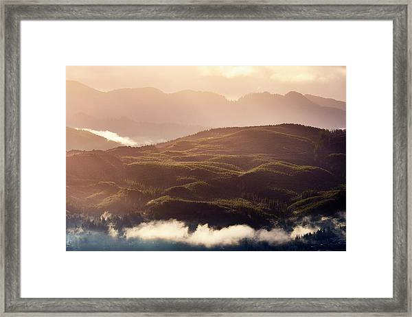 Framed Print featuring the photograph From Neahkahnie by Whitney Goodey