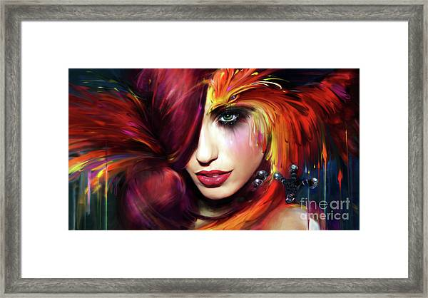 From The Ashes Framed Print
