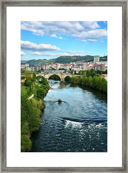 From The Top Of The Millennium Bridge Framed Print