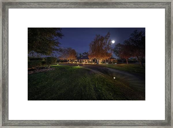 Front Framed Print