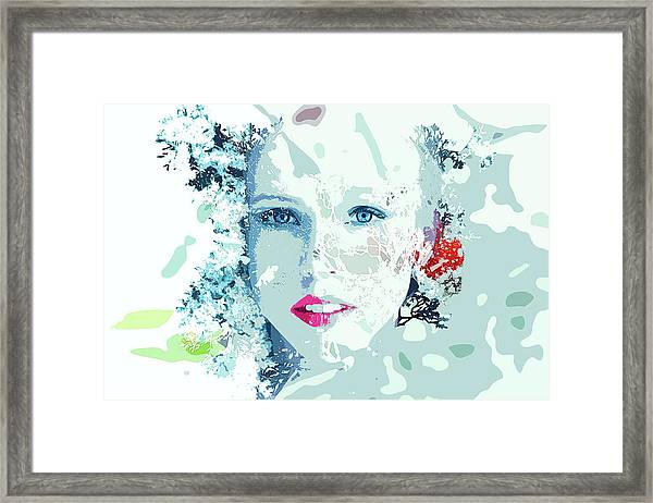 Frozen - Snow Queen Framed Print
