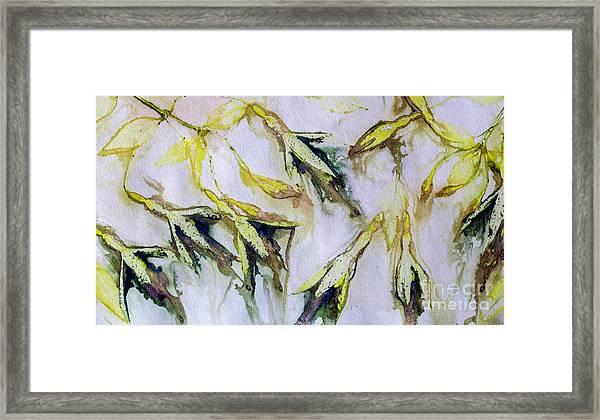Fuchsia Eco Printed Magic Framed Print