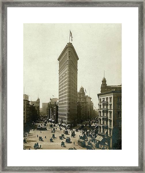 Fuller Flat Iron Building, New York Framed Print