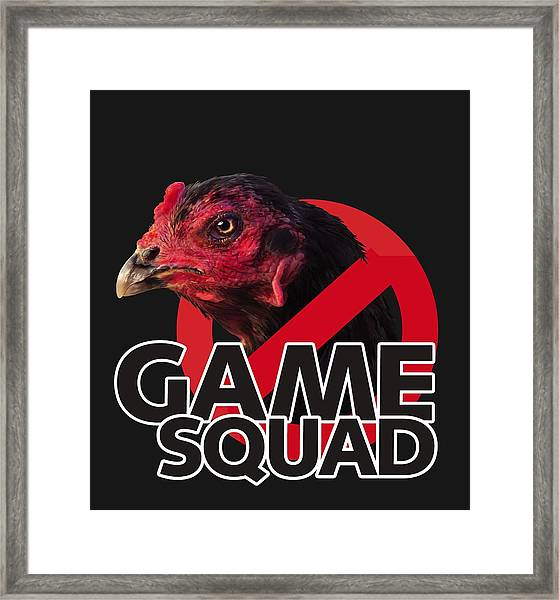 Game Squad Framed Print